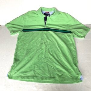 Men's large Tommy Hilfiger polo light green 👕